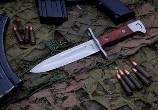 Knife ✰ Ak 47 ✰ Kalashnikov ✰ Ussr Camping Hunting Messer Vintage Suvenir photo