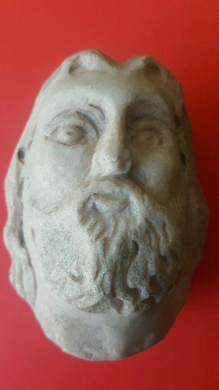 Large Roman Marble Head photo