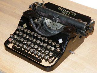 Antique Mercedes Prima Typewriter Zella - Mehlis - photo