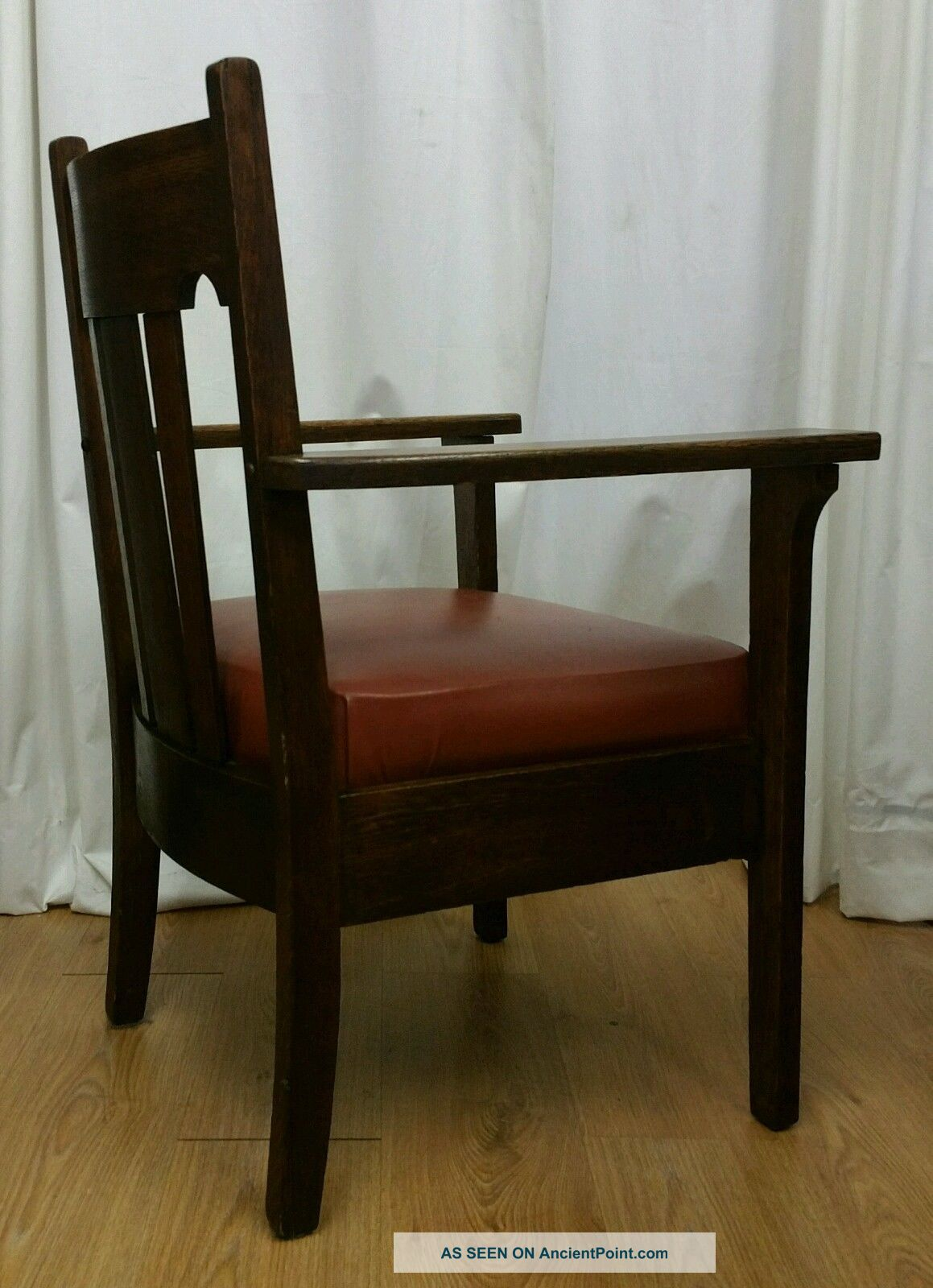 antique tiger oak dining chairs hd image