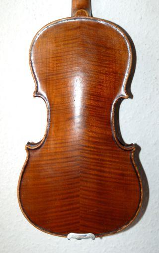Fine Old German 3/4 Violin Antonius Stradiuarius Cremonensis Faciebat Anno 1720 photo