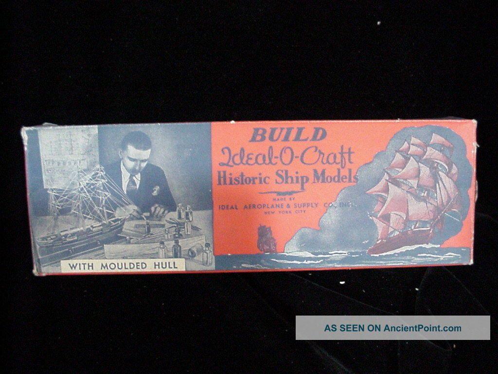 Nos Ideal - O - Craft Historic Ship Model Cruiser Augusta 1938 Model Ships photo