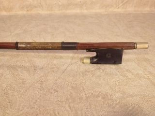 Leon Jolly Violin Bow France Found With A Nicolaus Amatus Style Violin photo