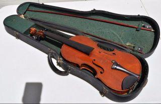 Antique Antonio Stradivarius Antonius Stradiuarius Cremonensis Violin Fiddle photo