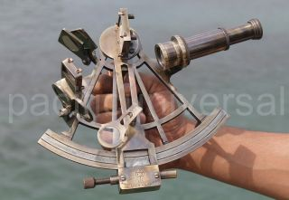 Nautical Sextant Antique Vintage Navigation Sextant Brass Sextant Gift8