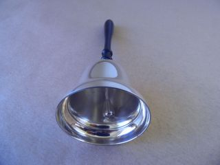 Sterling Silver & Wood Table Bell 2003 photo