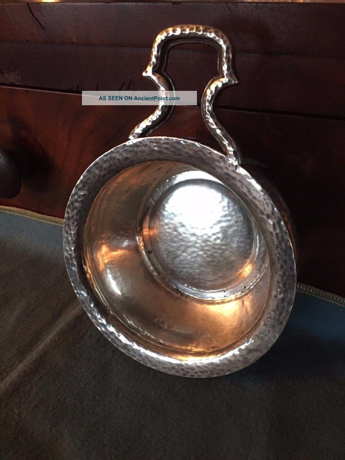 Gorham Arts & Craft Hand Hammered Sterling Silver Porringer A1772 No Mono Bowls photo