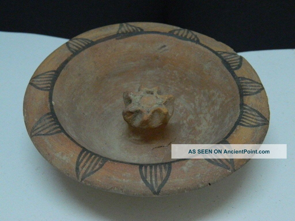 Ancient Teracotta Painted Pot Indus Valley 2500 Bc Pt15261 Near Eastern photo