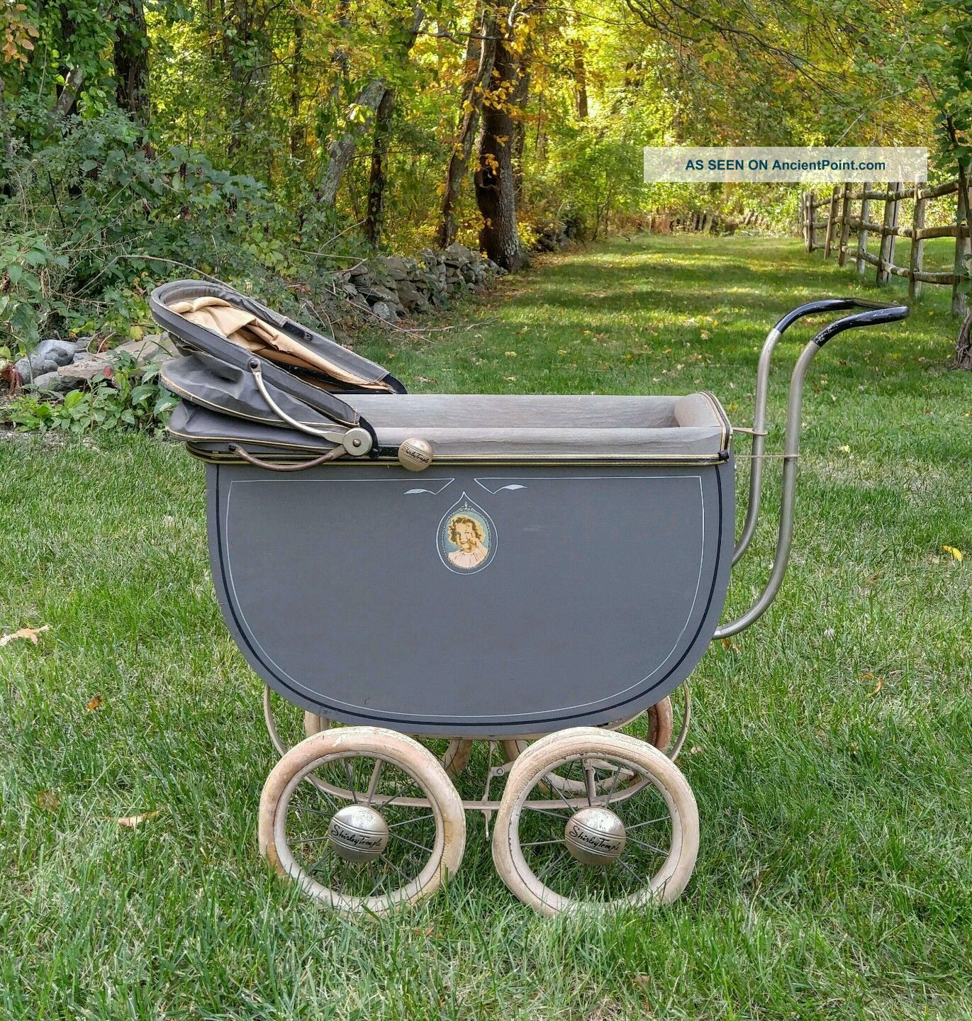 F.  A.  Whitney - Ideal Shirley Temple Vintage 1930 ' S Doll Carriage Baby Carriages & Buggies photo