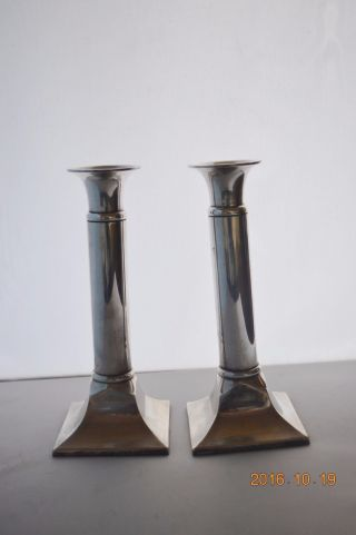 Matching Silver Candlesticks Parks Of London Shabbat Candlesticks photo