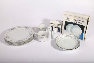 Wade Vintage Diane Part Dinner Service Japanese 10pce photo