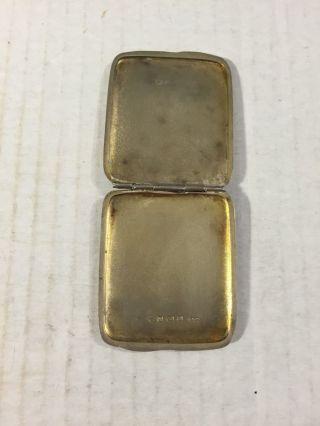 Liberty & Co Archibald Knox Sterling Silver Enamel Gilt 1900 Stamp Ot Pill Box photo