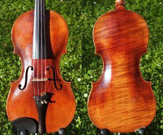 Antique Violin Labelled Josef Kloz In Mittenwald.  Sound & Build photo