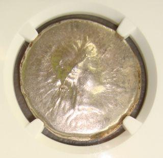 2nd - 1st Cent.  Bc Celts,  Danube Ancient Greek Silver Tetradrachm Ngc Ms 4/5 4/5 photo