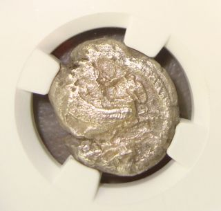 4th Century Bc Phoenicia,  Tyre Melqart/owl Ancient Greek Silver Shekel Ngc Vf photo