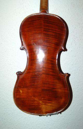Fine Antique Handmade Master 4/4 Fullsize Violin From Jos.  Rudolf Lenhart photo