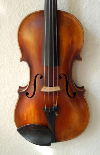 Fine Antique German 4/4 Violin - Label: Jacobus Stainer In Absam - 1900 ' S photo