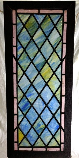 Antique Victorian Stained Glass Window.  12.  5