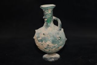 Rare Chinese Ancient Peking Hand - Make Colored Glaze Vase R002 photo