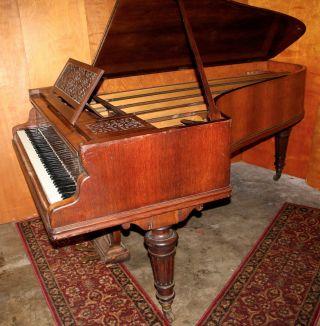1893 Erard 7 ' Semiconcert Grand Piano Paris Liszt Steinway Era photo