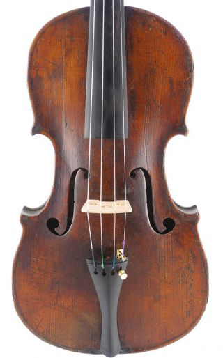 Antique,  Salzard Ernest Andre,  French Old Labeled 4/4 Violin photo