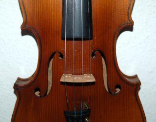 Fine Antique Geman Fullsize 4/4 Violin - Label Antonius Stradiuarius - 1920 ' S photo
