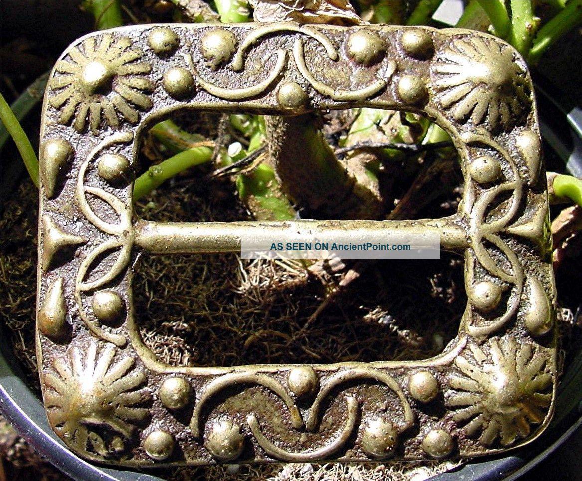 Antique Pirates Bronze Sword Baldric Pistol Belt Buckle Just Like Jack Sparrow Other Maritime Antiques photo