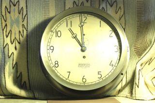 E.  Howard & Co.  Ships Clock,  Boiler Room,  Marine,  Railroad Steam Engine.  Foxboro photo