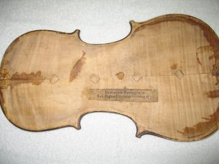 Very Old Italian Violin - Dominicus Montagnana photo