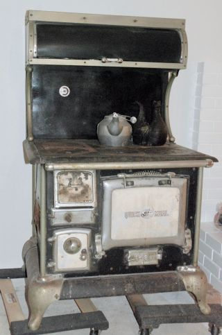 Quick Meal Antique Wood Stove photo