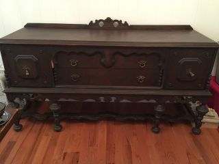 Vintage Buffet Table photo