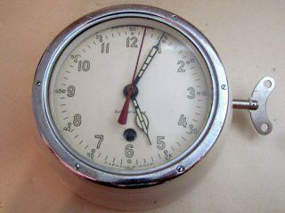 Vostok Boctok 1975 Antimagnetic Boat/ship Submarine Navy Cabin Ussr Clock photo