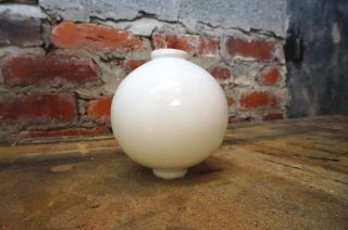 Antique Vintage Glass Ball For Lightning Rod Architectural House Salvage Cupola photo