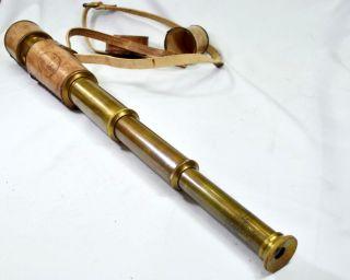 Dorpmarket Spy Glass Replica Pirate Brass Telescope Hand Held Pocket Telescope photo