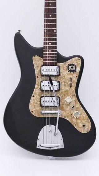 Egmond Old Electric Guitar E - Guitar Vintage Antique Alte Gitarre E - Gitarre photo