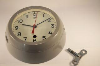 Vintage 1985 Russian Ussr Military Navy Marine Nautical Ship Boat Clock Vostok photo