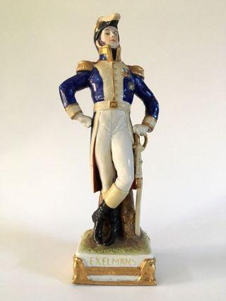 Scheibe Alsbach Porcelain Napoleonic Marshal Exelmans photo