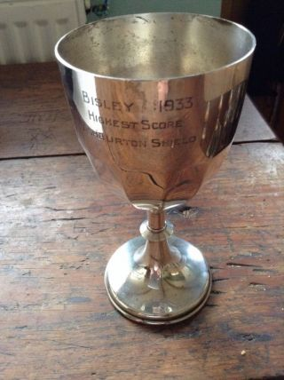 Silver Plate Goblet photo