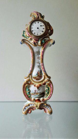 Unique Vacheron Constantin Clock Ca.  1780 Year Honore Savy Ceramic photo