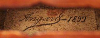 Antique,  Maxime Angard,  French Old Labeled 4/4 Master Violin photo