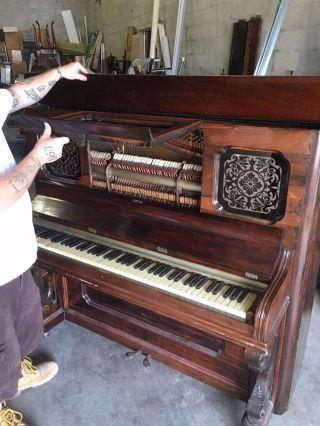Antique Piano photo