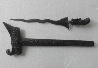 Keris Bali Boma 7 Luk Kris Kriss Krissen Kkl01 photo