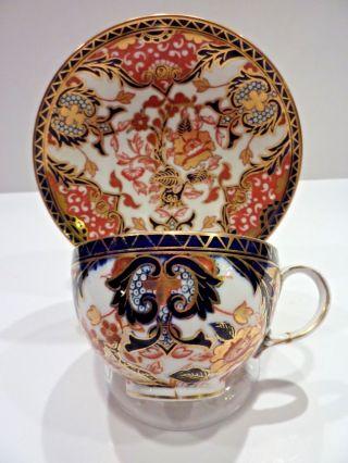 Royal Crown Derby Imari Kings Pattern Cup Saucer Bone China photo