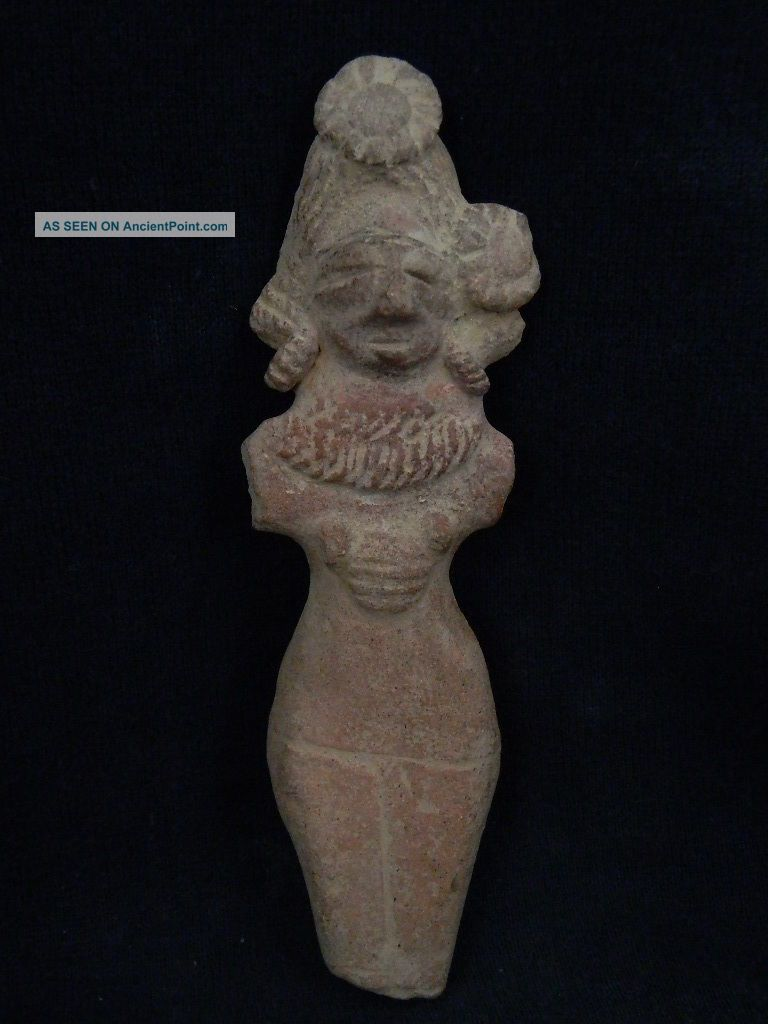 Ancient Large Size Teracotta Mother Goddess Indus Valley 600 Bc Tr7 Near Eastern photo