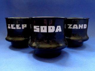 1910/1920 Jugendstil Deco Enamalware Zeep Soda Zand Kitchen Container Plant Pots photo