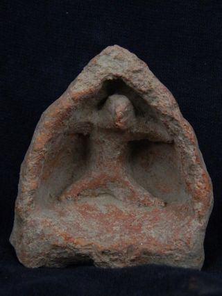 Ancient Teracotta Idol Figure Indus Valley 1000 Bc Tr917 photo