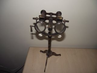 Replica Antique Finish 10 Inch Nautical Binocular On Tripod Stand Small Size photo