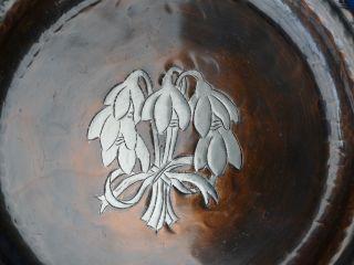 Hugh Wallis - Arts & Crafts - Snowdrop Design Tray - photo