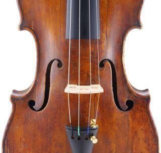 Antique,  Alberto Petracca,  Italian Old Labeled 4/4 Violin photo