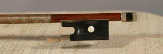 Interesting French Violin Bow,  Archet,  Geigenbogen Around 1840,  Attic Found photo